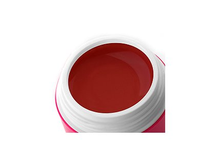 Barevný gel clared red 5 ml