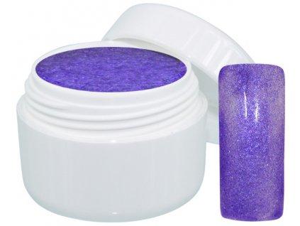 Barevný gel extreme glimmer purple 5 ml