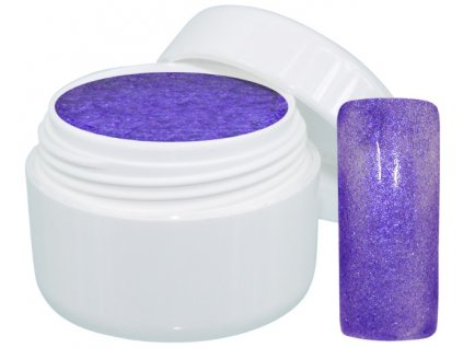 Barevný gel extreme glimmer purple 5 ml