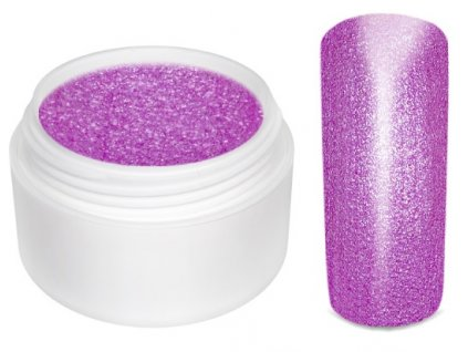 Barevný gel neon glimmer purple 5 ml