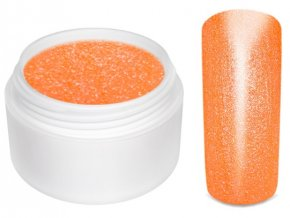 Barevný gel neon glimmer orange 5 ml