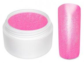 Barevný gel neon glimmer pink 5 ml