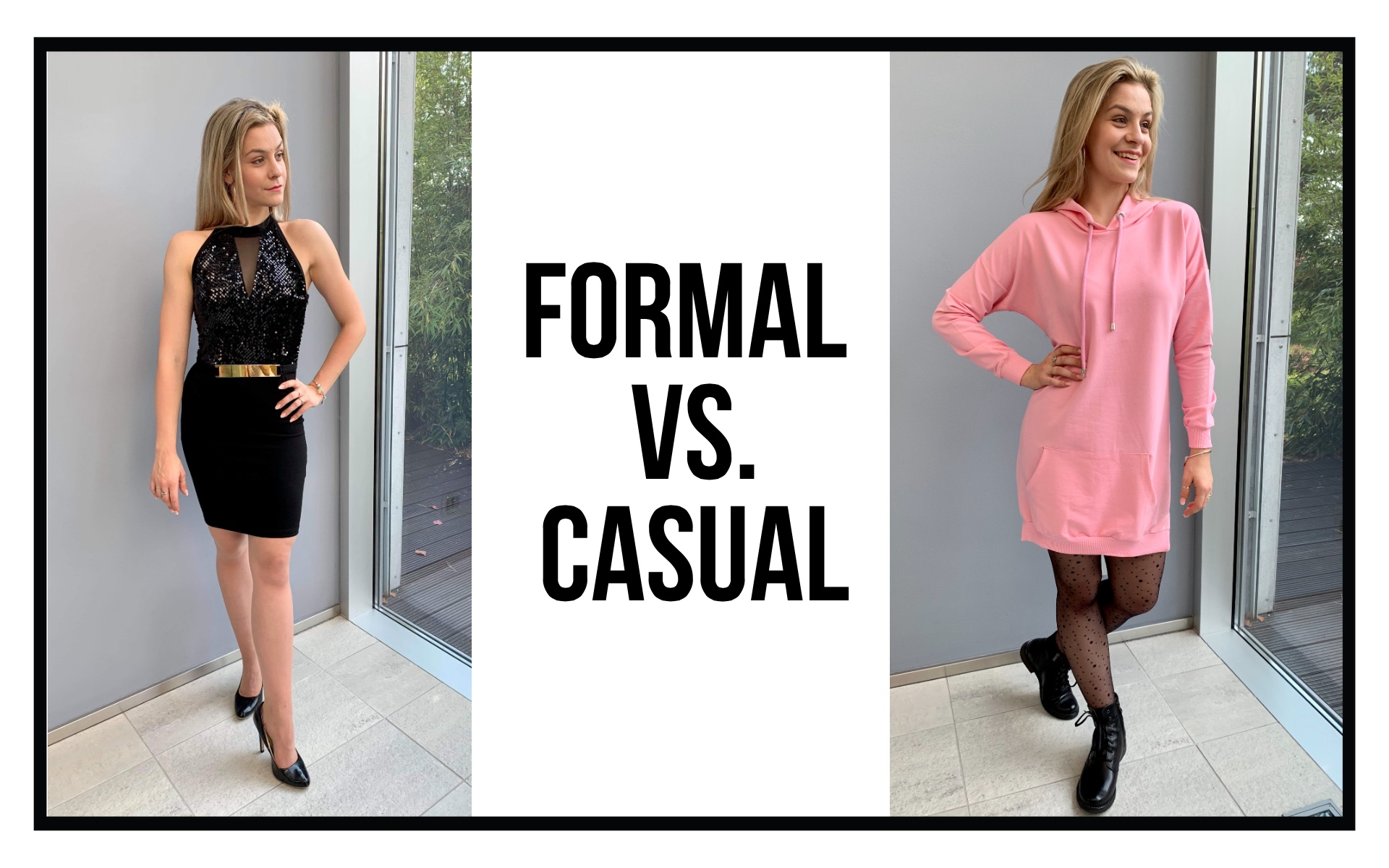 formal vs. casual pc