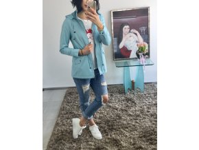 Bunda parka Ruth blue