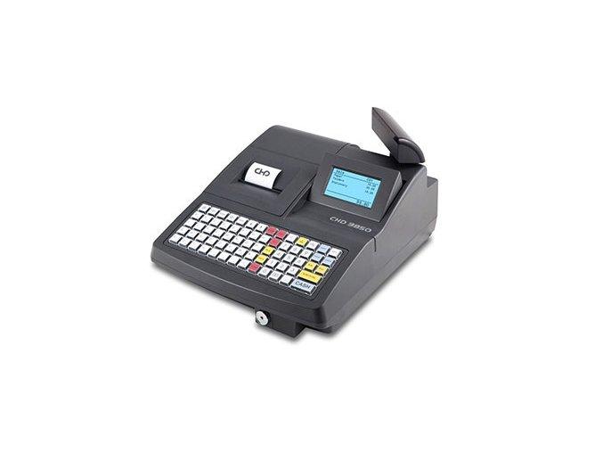 CHD 3850, obchodní pokladna  Obchodní pokladna bez zásuvky připravená pro EET (e-tržby), vhodná do větších prodejny