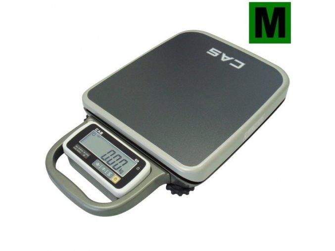 CAS PB 100/200 kg  Můstková váha vhodná i na vážení v lékařském provozu