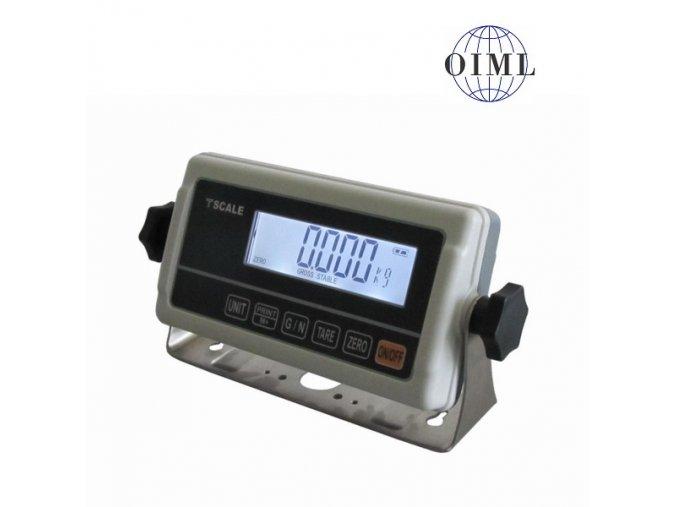 TSCALE RWP, IP-54, plast, LCD  Vážní indikátor pro obchodní vážení - možnost ES ověření