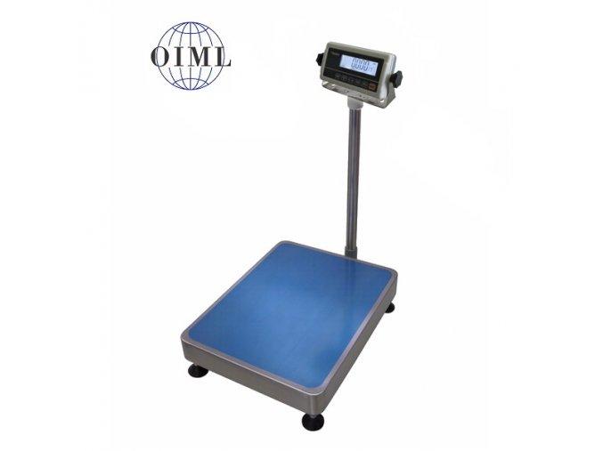 LESAK 1T3545LN-RWP/DR, 60;150kg/20;50g, 350x450mm, lak/nerez (1 Váha bez ověření)