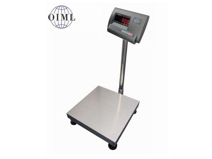 LESAK 1T4040LN-A12, 30kg/10g, 400x400mm, lak/nerez (1 Váha bez ověření)