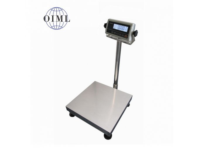LESAK 1T5050LN-RWP/DR, 30;60kg/10;20g, 500x500mm, l/n (1 Váha bez ověření)