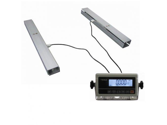 LESAK 2TVLNU45-RWP 300kg/50g, 450mmx450mm, nerez