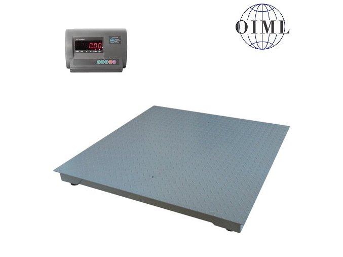 LESAK 4T1515L-MB/1,5t, 1,5t, 1500mmx1500mm, lak (1 Váha bez ověření)