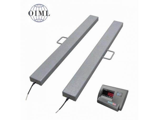 LESAK 4TVLL1000A12, 600kg/200g, 120mmx1000mm, lak (1 Váha bez ověření)