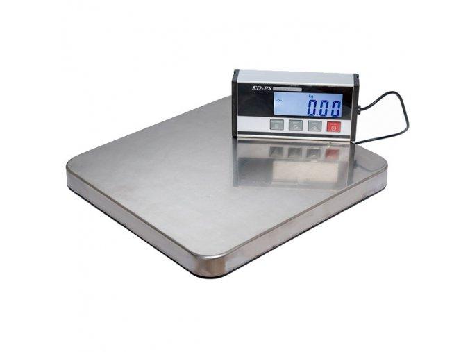 LESAK KD-PS, 60kg, 300mmx320mm, můstková váha  Balíková váha vhodná jako poštovní nebo expediční váha