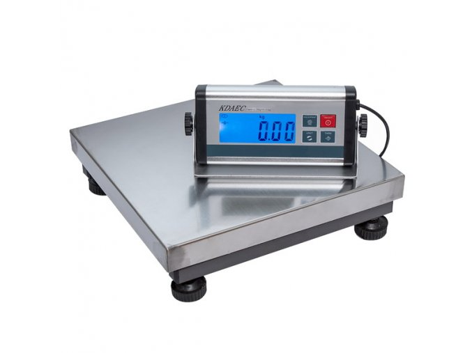LESAK KDAEC-3030, 75kg, 300mmx300mm, můstková váha  Univerzální odolná váha pro kontrolní vážení