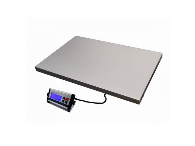 LESAK KDAEC-6090, 75kg, 600mmx900mm, veterinární váha  Univerzální odolná váha pro kontrolní vážení