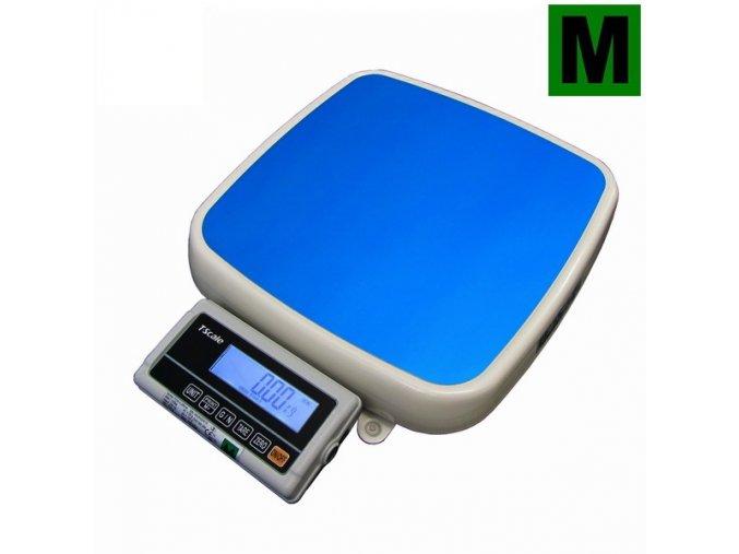TSCALE FOXII250MRH, 150;250kg/50;100g, 355x370mm  Certifikovaná zdravotnická váha - ES ověřená
