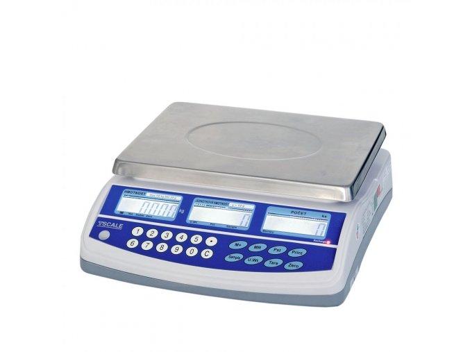 TSCALE QHD-15 PLUS, 15kg/0,2g, 225mmx300mm