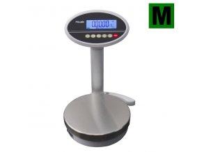 TSCALE ROW-06, 3/6kg, 1/2g, 232mm  Obchodní gastro váha s displejem na nožce