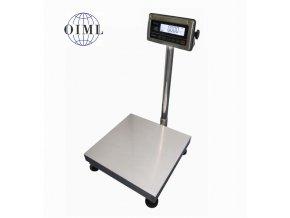 Váha můstková nerezová do 30kg 1T4040NNRWS/DR, 400x400mm, nerez-nerez (1 Váha bez ověření)