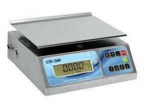 ZV KS1-8, 8 kg, 245mmx190mm, technologická  Nerezová kontrolní váha do skladu, výroby a kuchyně