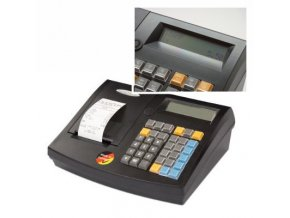 Quorion CR 21 2xRS/USB/OL, registrační pokladna bez zásuvky černá