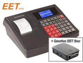 Quorion QMP 18 2xRS/USB/OL černá + Quorion EET box