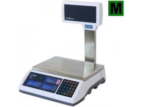 CAS ER Plus 6LP  Obchodní pultová váha s výpočtem ceny a displejem na nožce