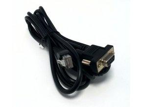 Komunikační kabel RS 232 váha - PC