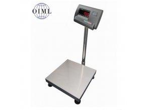 LESAK 1T4040LN-A12, 150kg/50g, 400x400mm, lak/nerez (1 Váha bez ověření)