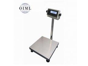 LESAK 1T4040LN-RWP/DR, 60;150kg/20;50g, 400x400mm, lak/nerez (1 Váha bez ověření)