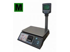 ACLAS CS3C váhopokladna, 6/15kg, 230mmx330mm  Obchodní váha s funkcemi registrační pokladny a vestavěnou tiskárnou