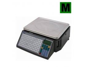 ACLAS LS2N615, 6/15kg, 345mmx264mm  Obchodní váha s tiskem etiket a účtenek v nízkém provedení