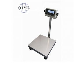 LESAK 1T6060LN-RWP/DR, 60;150kg/20;50g, 600x600mm, l/n (1 Váha bez ověření)