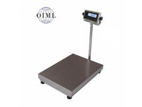 LESAK 1T6080LN-RWP, 150kg/50g, 600x800mm, l/n (1 Váha bez ověření)