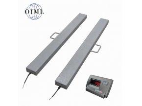 LESAK 4TVLL0800A12, 600kg/200g, 120mmx800mm, lak (1 Váha bez ověření)