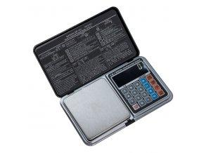 LESAK HD-01, 500g/0,01g, 65mmx70mm  Kapesní váha s šesti funkcemi