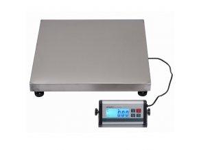 LESAK KDAEC-5050, 30kg, 500mmx500mm, můstková váha  Univerzální odolná váha pro kontrolní vážení