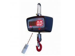 LESAK ZEV-1000, 1t/500g  Levná závěsná/jeřábová váha s LED displejem za příznivou cenu