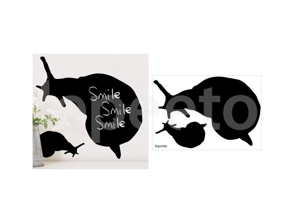 Hlemýždi - samolepicí tabule na stěnu
