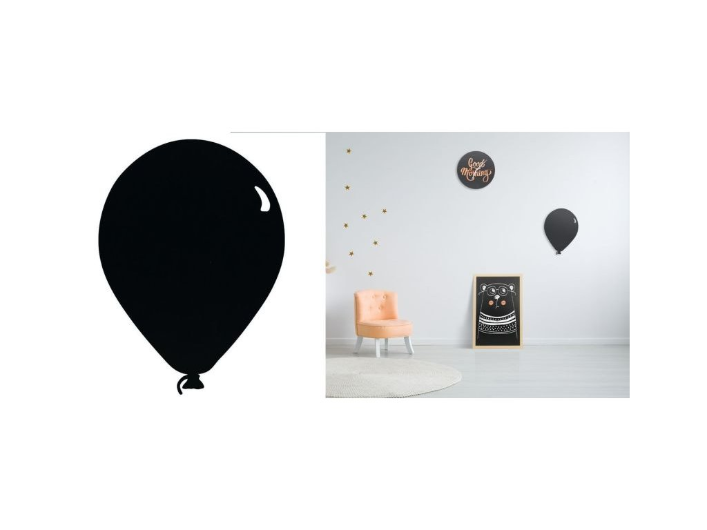 tabule na zed balonek