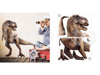 Tyranosaurus - samolepky na zeď