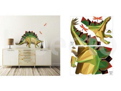 Stegosaurus - samolepky na zeď