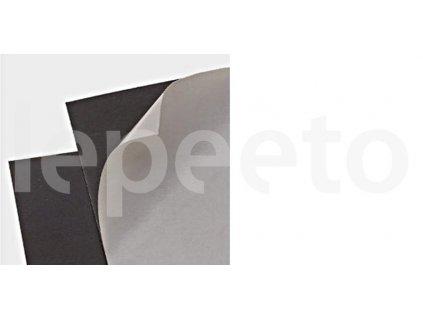 Pokovená samolepicí fólie černá - magnetické fólie samolepicí