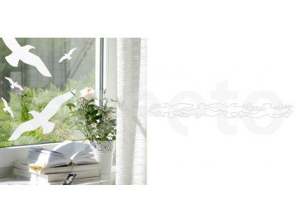 Dravci - siluety - samolepky na okno i zeď