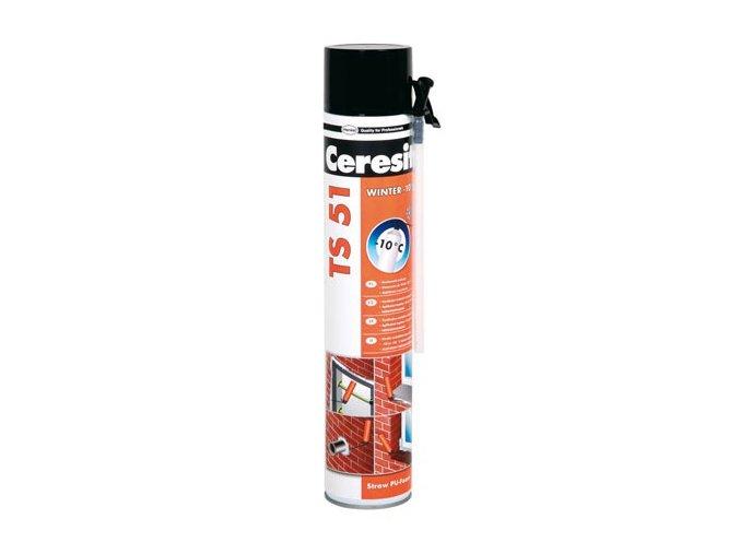 Ceresit TS 51 - 750 ml PU pěna trubičková zimní