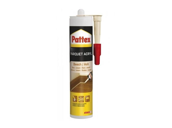 Pattex parketový tmel buk/tmavá třešeň - 300 ml