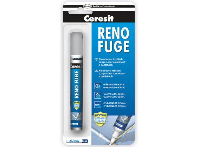 Ceresit Reno Fuge - 7 ml bílý, pro obnovení vzhledu spár
