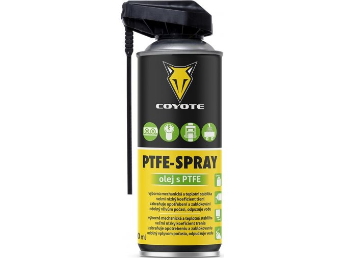 Coyote PTFE Spray - 400 ml olej s PTFE