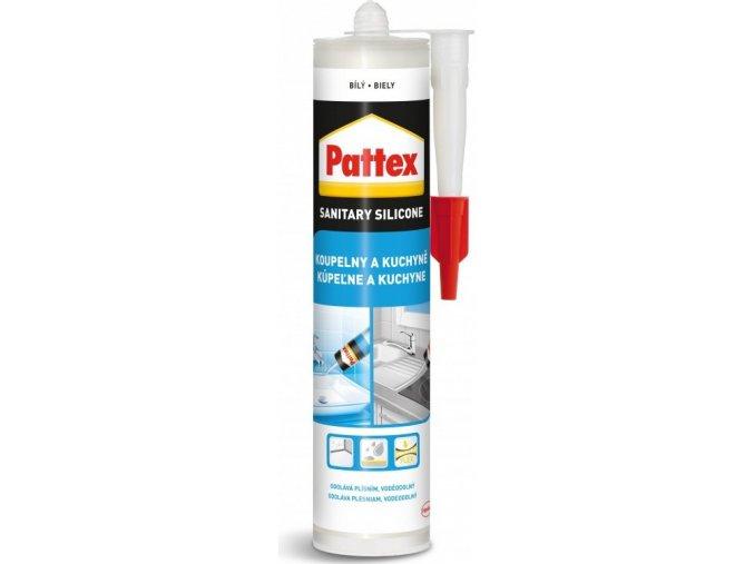Pattex Koupelny a kuchyně - 280 ml bílý